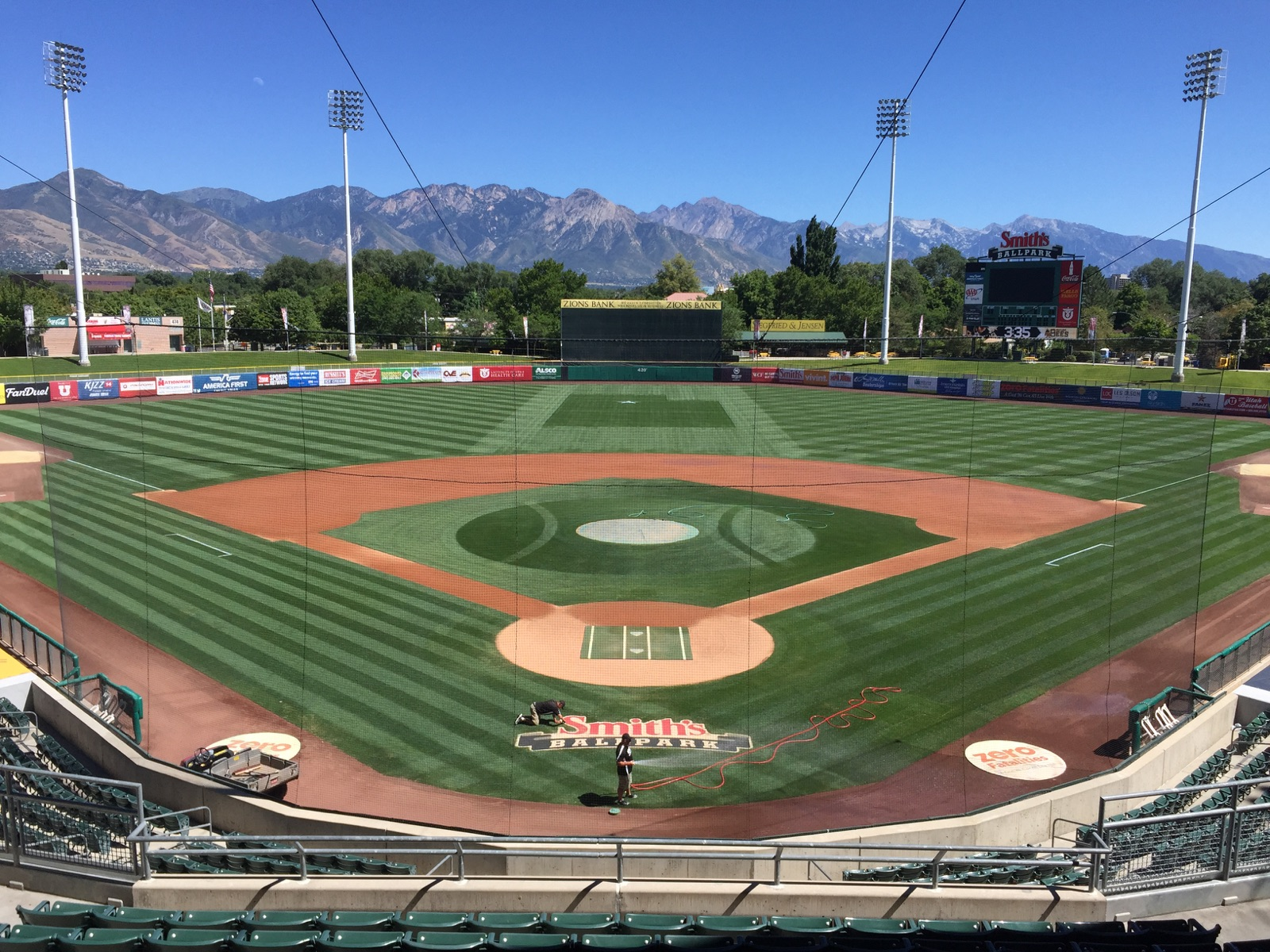 Smith's Ballpark, Home of the Salt Lake Bees - August 28 ...