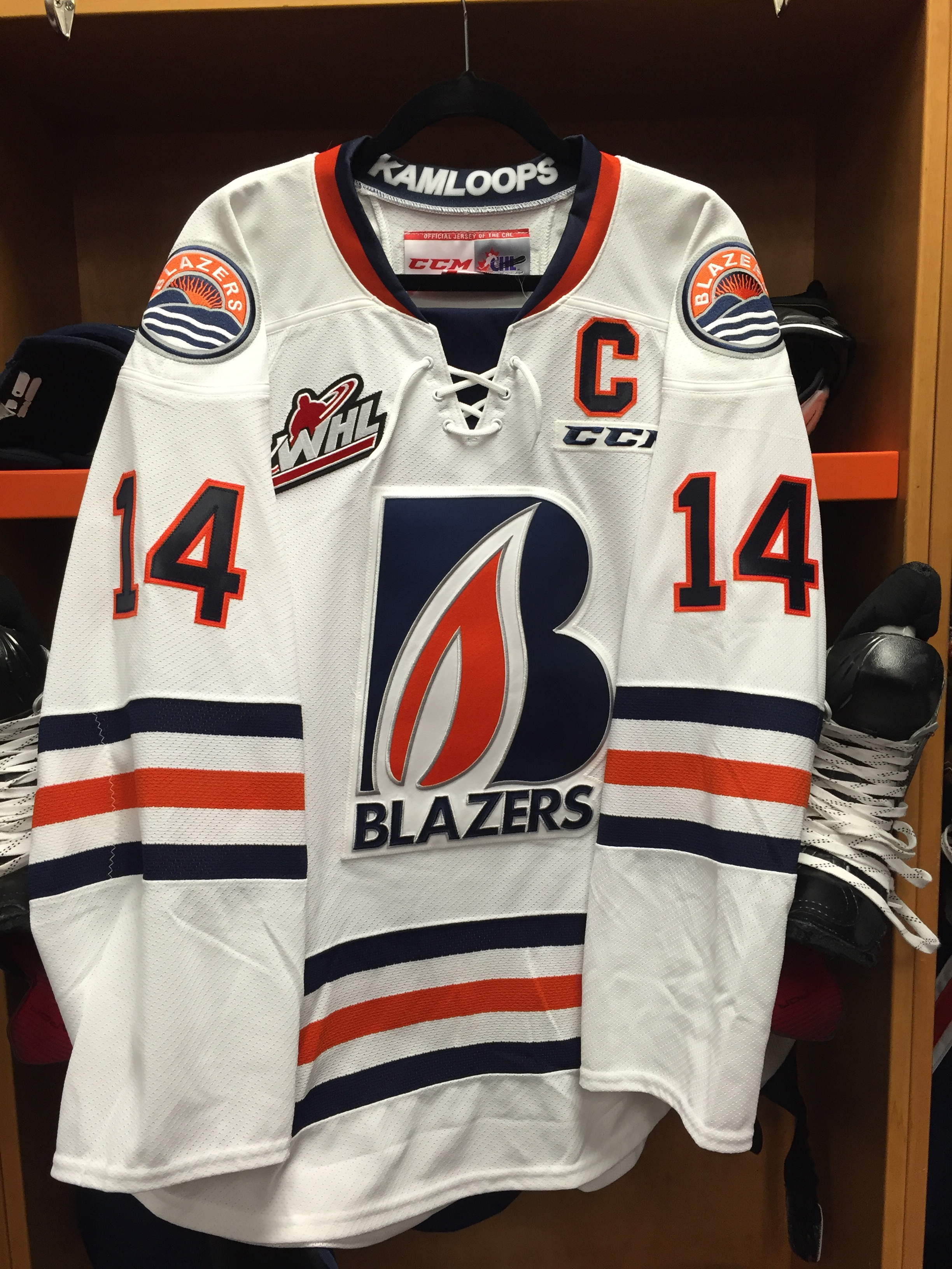 Kamloops Blazers New Jersey - September 24 2015 Photo On OurSports Central