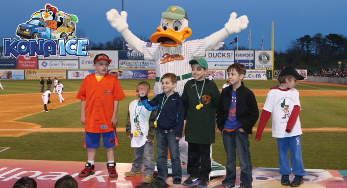 Long Island Ducks Birthday Parties