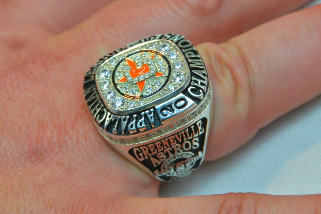 Astros Minor League Giveaway World Series Ring