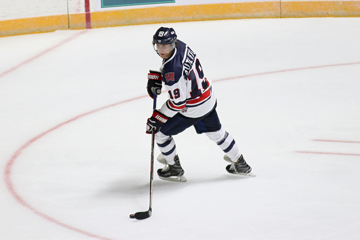 Image result for Photo of Derek Sutliffe, Evansville hockey team
