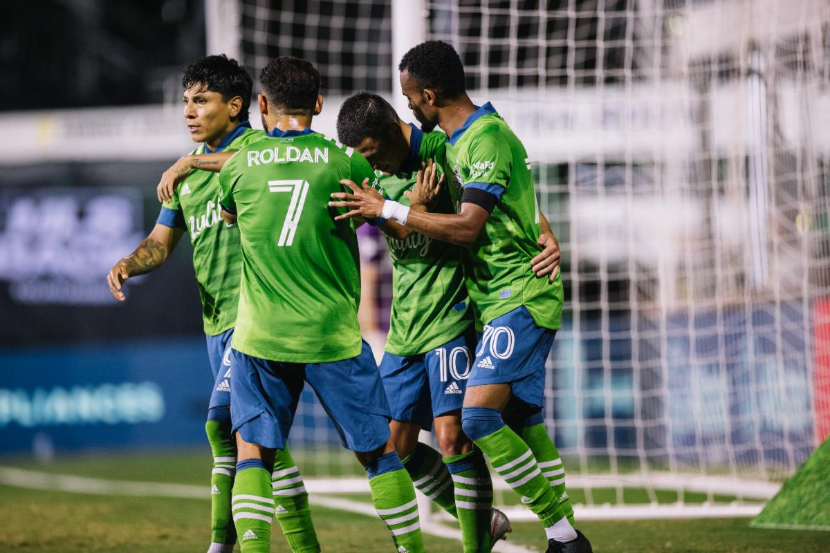 Sounders Fc Secures Passage To Knockout Round Of Mls Is Back Tournament With 3 0 Victory Over Vancouver Oursports Central