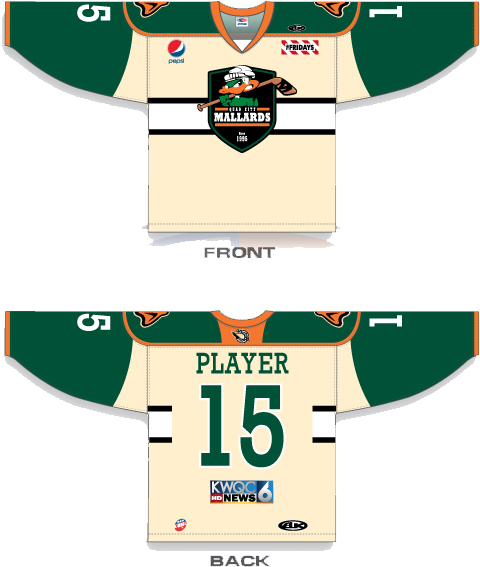 Mallards Fan-Designed Jersey