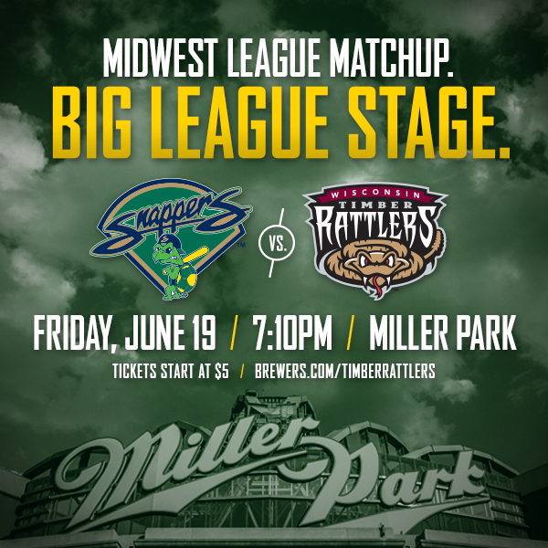 Snappers to Play at Miller Park