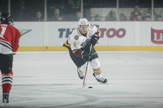 Ty Rattie of the Chicago Wolves