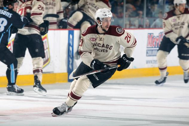 Cody Beach of the Chicago Wolves