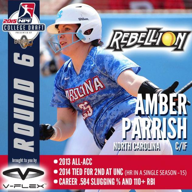 Pennsylvania Rebellion Draftee Amber Parrish