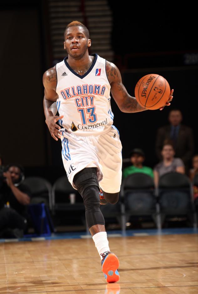 Dwight Buycks of the Oklahoma City Blue