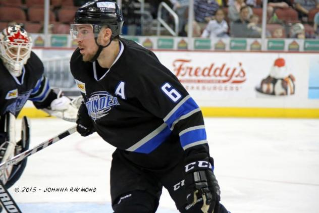Wichita Thunder Defenseman Dan Milan