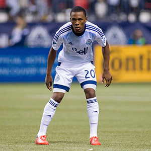Deybi Flores of Whitecaps FC