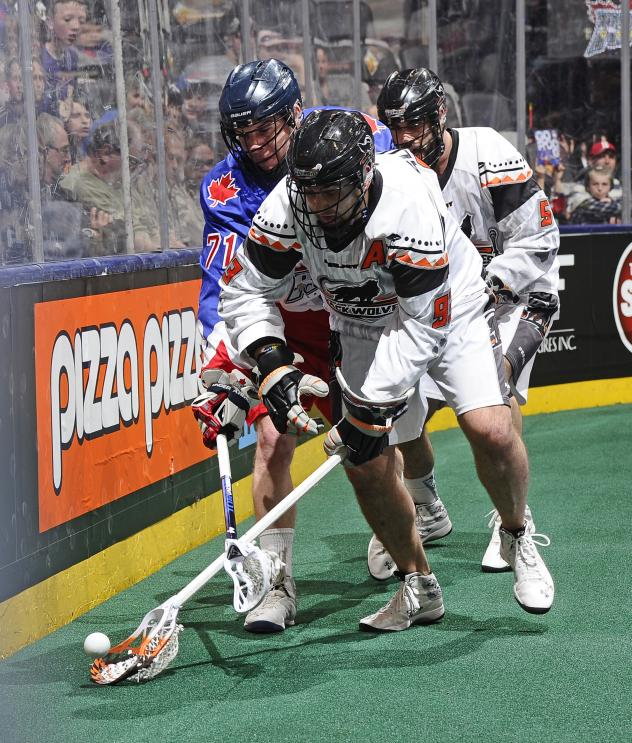 New England Black Wolves at Toronto Rock