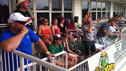 A Suite at the Kannapolis Intimidators Game