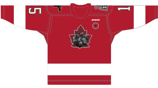 Quebec Remparts' Commemorative Jerseys
