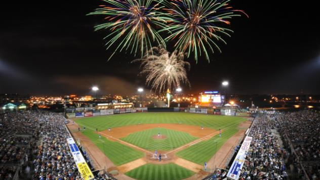 Fireworks at Principal Park, Home of the Iowa Cubs
