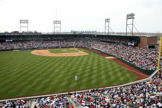 Huntington park home of the columbus clippers june 25 2015 photo