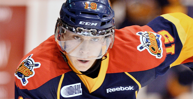 Dylan Strome of the Erie Otters