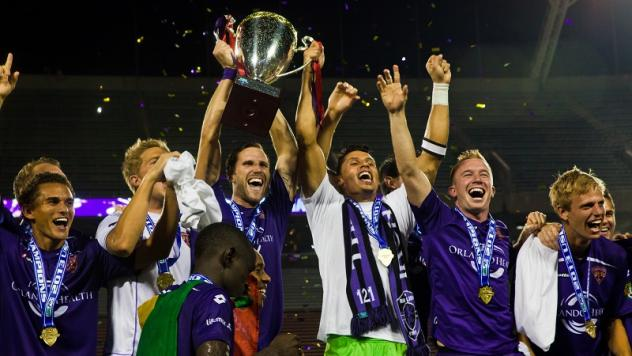Orlando City Soccer Club Celebrates USL Title