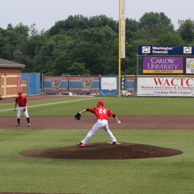 Luke Wilkins Pitches for the Washington Wild Things