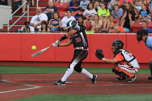 Chicago Bandits with the Akron Racers