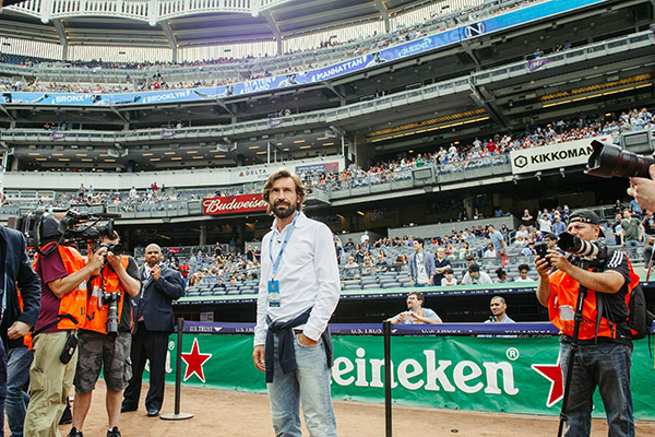 Andrea Pirlo Introduced with New York City FC