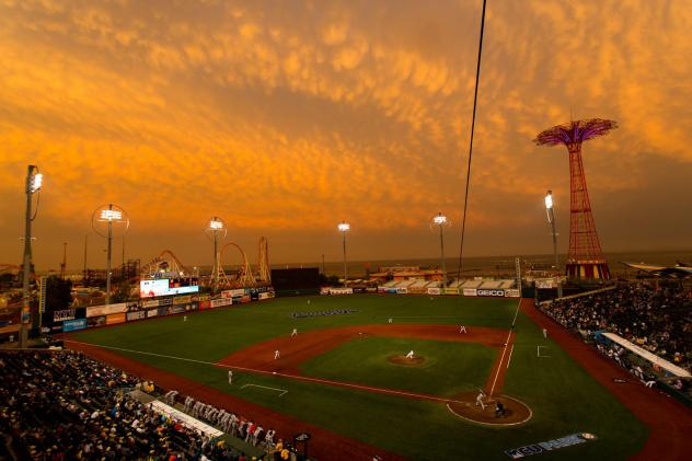 MCU Park, Home of the Brookly Cyclones