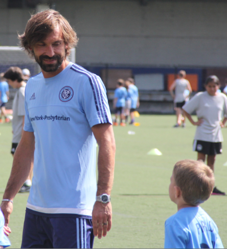 New York City FC's Andrea Pirlo