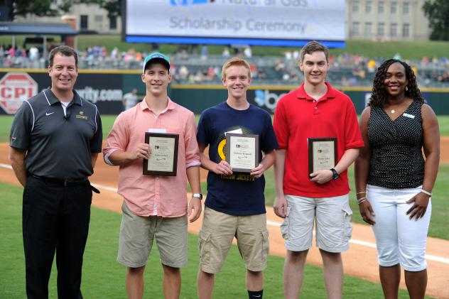 Charlotte Knights Present Scholarships