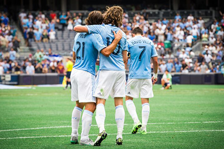 New York City FC Celebrates