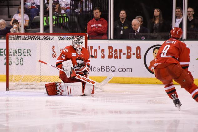 John Muse with the Charlotte Checkers