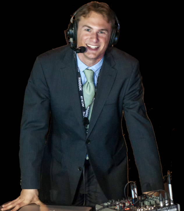 Orlando Solar Bears Director of Communications and Broadcasting Jesse Liebman