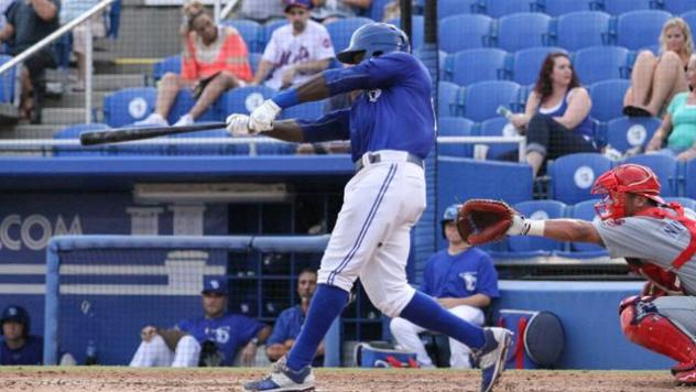 Anthony Alford of the Dunedin Blue Jays