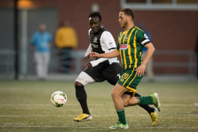 Pittsburgh Riverhounds in Action