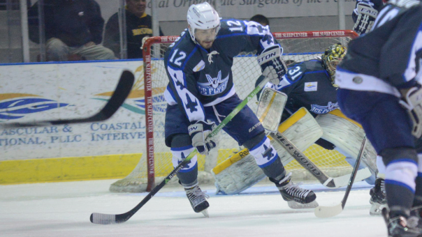Pensacola Ice Flyers Defenseman Phil Tesoriero