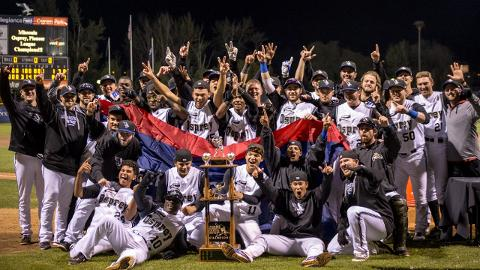 Missoula Osprey Celebrate Pioneer League Championship