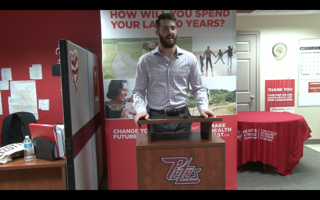 Peterborough Petes Defenceman Cam Lizotte Launches 'Play with Heart' Campaign