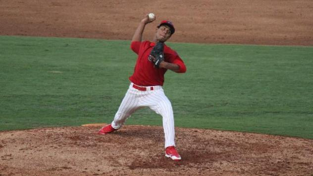 Clearwater Threshers Pitcher Ricardo Pinto