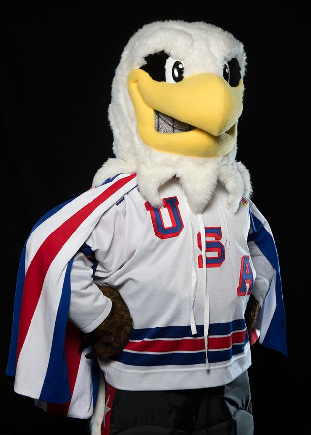 USA Hockey's NTDP Eagle Mascot