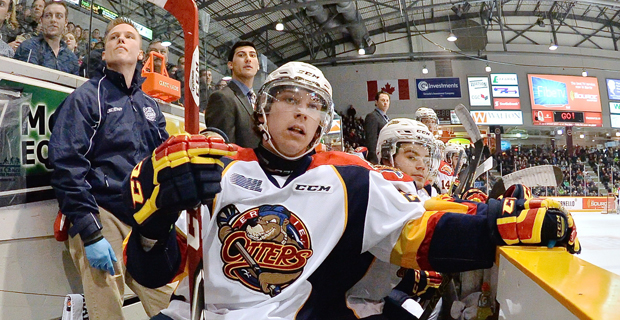 Erie Otters Bench