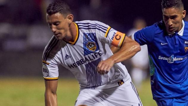 LA Galaxy II in Semifinal Action
