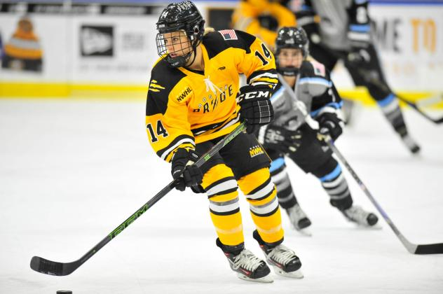 Boston Pride Forward Brianna Decker