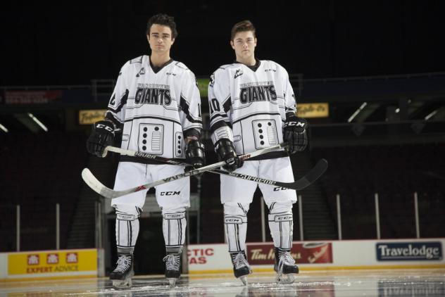 Vancouver Giants Star Wars Jerseys