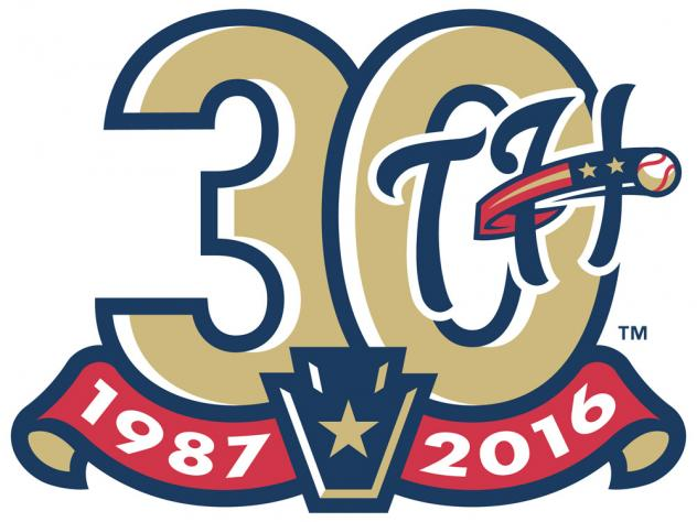 Harrisburg Senators 30th Season Logo