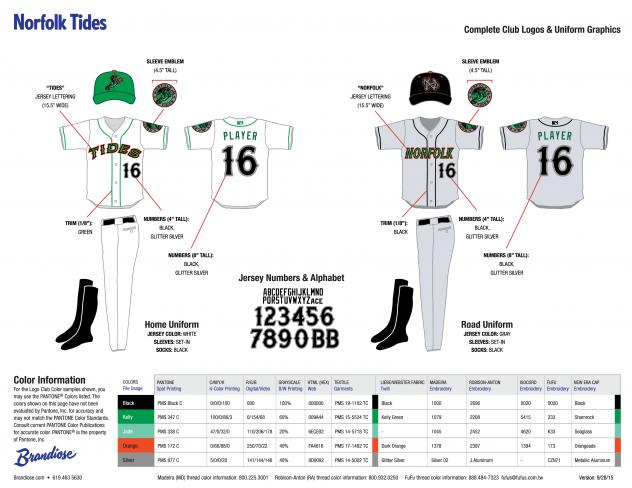 Norfolk Tides Uniform Guide