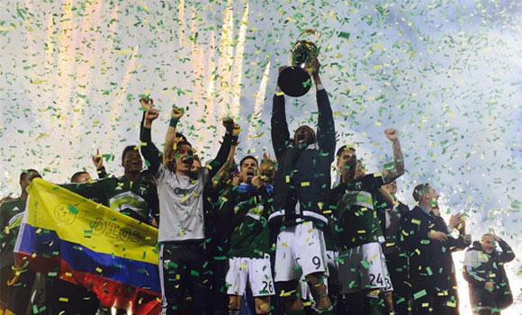 2015 MLS Cup Champion Portland Timbers