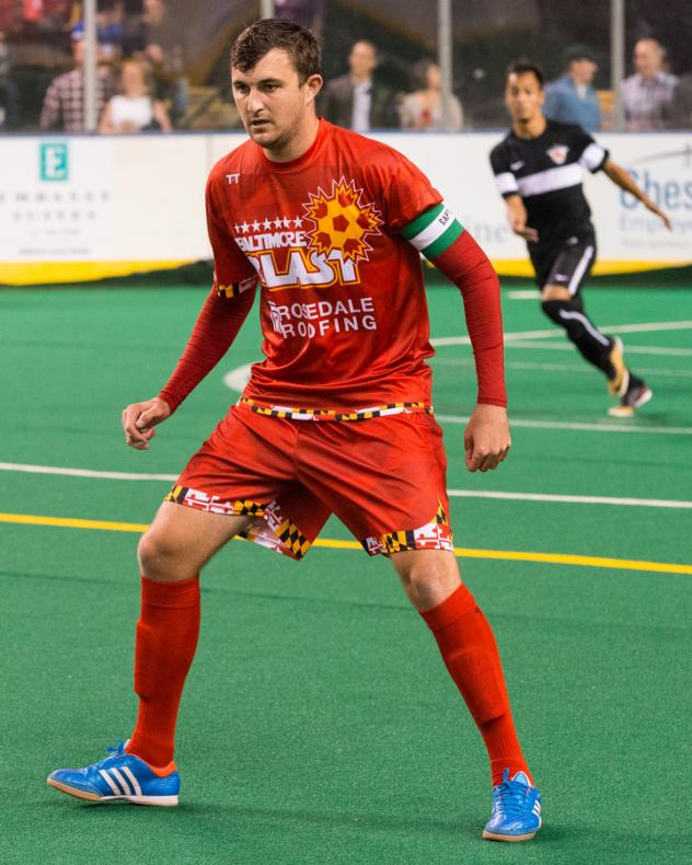 Pat Healey of the Baltimore Blast
