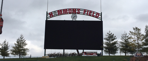 New 13HD Video Display at Hammons Field
