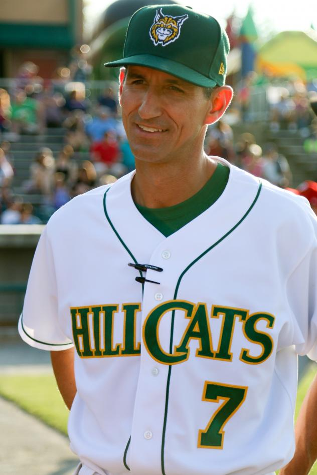 Lynchburg Hillcats Manager Mark Budzinski