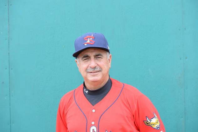 State College Spikes Manager Johnny Rodriguez