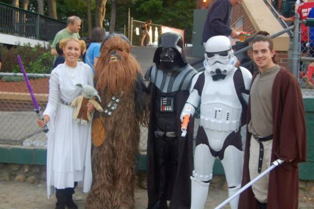 Star Wars Night with the Nashua Silver Knights
