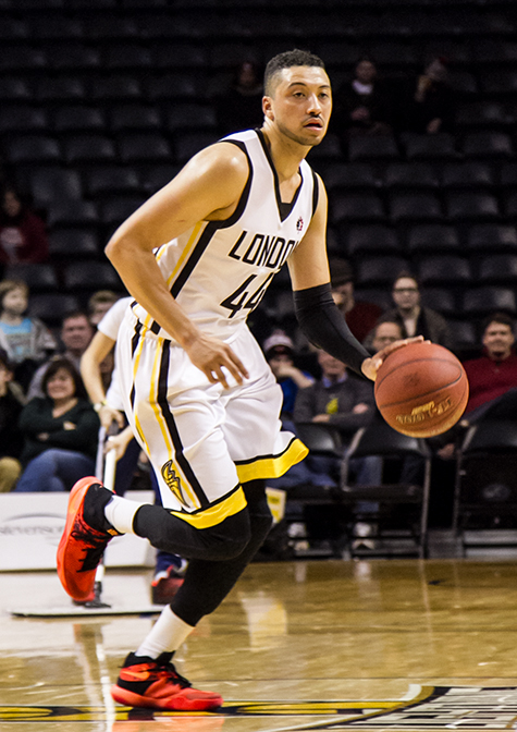 Ryan Anderson of the London Lightning